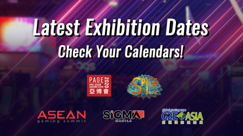 Check your calendar and make sure your iGaming event dates are up-to-date!
