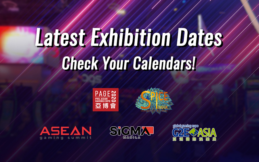 Check your iGaming Event Dates! Updated for COVID-19