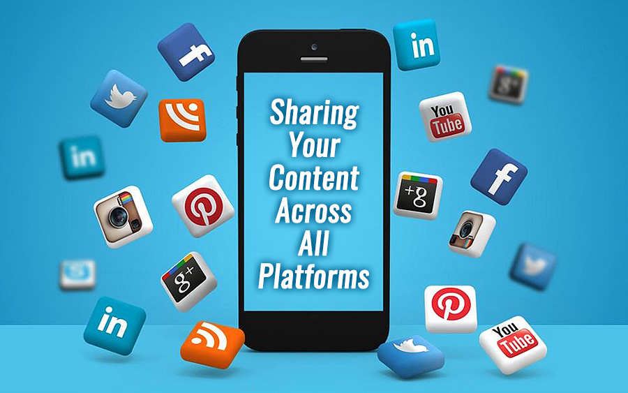 Sharing your content across all platforms