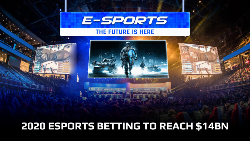 2020 eSports betting revenue to reach $14BN