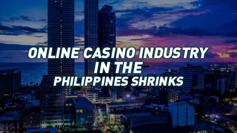 Philippines' online casino industry shrinks