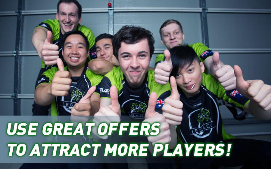Use Great Offers to Attract more Casino Players - GamingSoft News