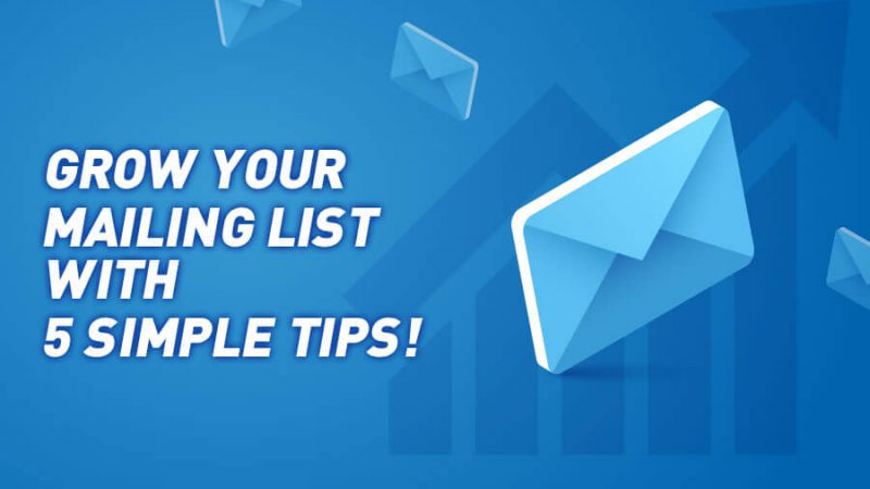 Grow your mailing list with 5 simple tips! - GamingSoft News