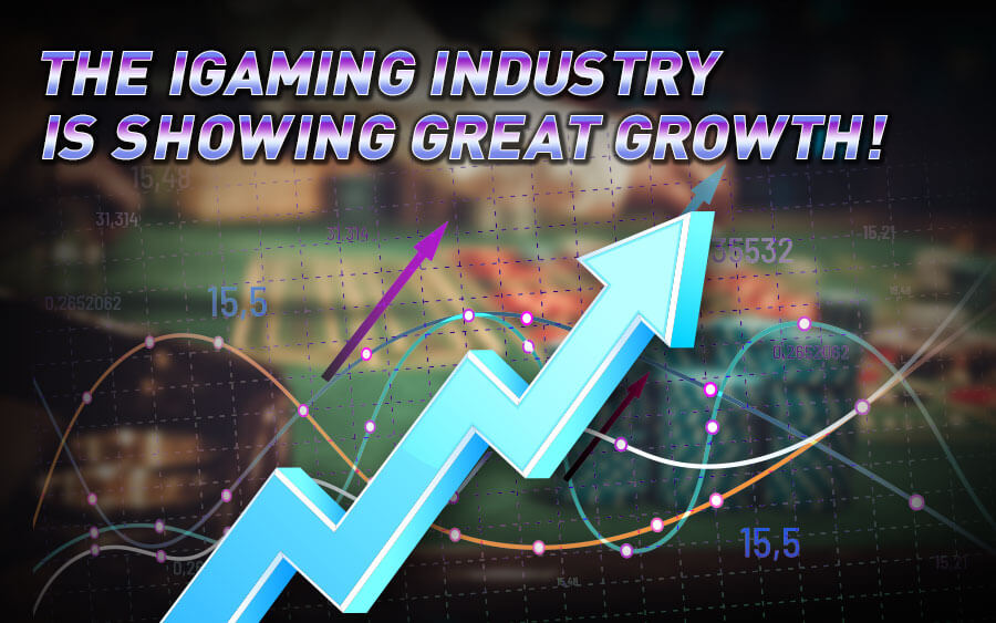 The iGaming industry is showing massive growth - GamingSoft News