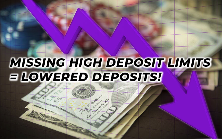 The result of low deposit in gambling spend - GamingSoft News