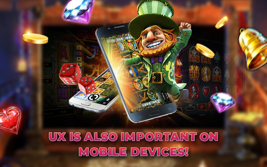 UX is also important for mobile casino - GamingSoft News
