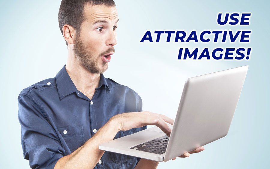 Use attractive images for your content - GamingSoft News