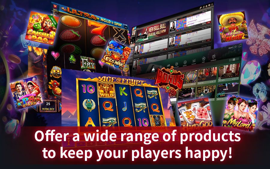 Offer a wide range of casino products to keep your players happy - GamingSoft News