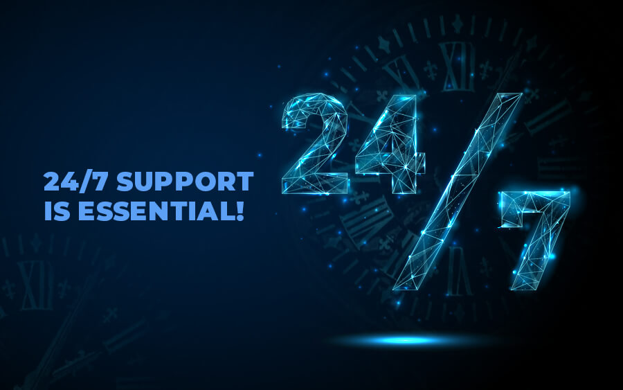24/7 Support is Essential for Good Online Casino Customer Service - GamingSoft News