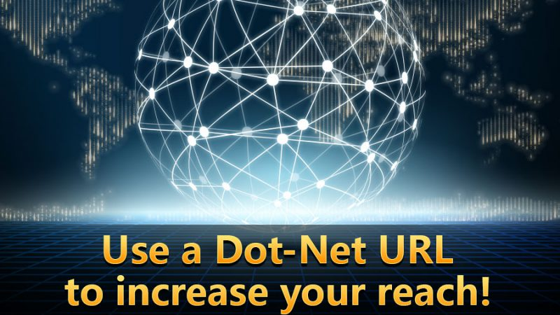 Use a dot-net URL to increase your reach! - GamingSoft