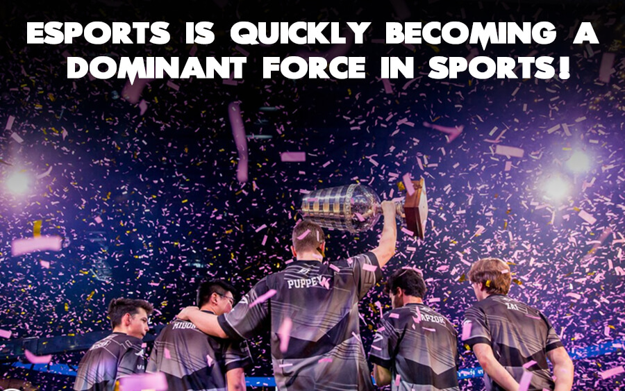 Esports is quickly becoming a dominant force in sports! - GamingSoft News