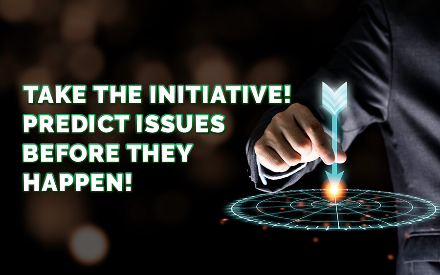 Take the initiative! Predict issues before they happen - GamingSoft News