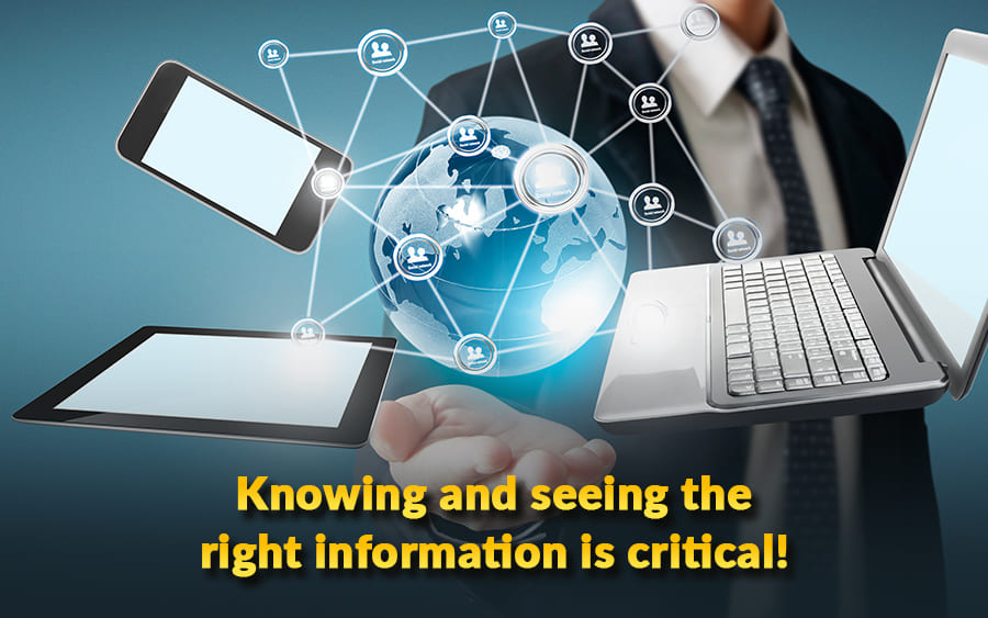 Knowing & seeing the right information is critical! - GamingSoft News