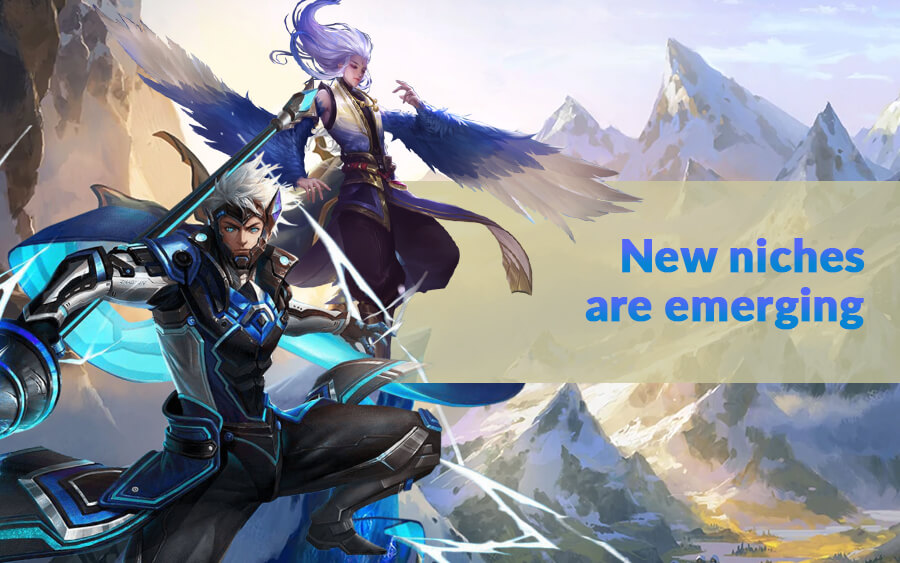 New niches are emerging - GamingSoft News