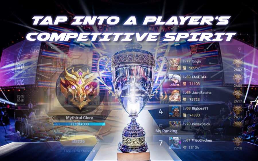 Tap into a player's competitive spirit! - GamingSoft News